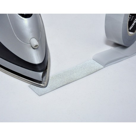 Reflexband iron-on 25 mm bred, metervara